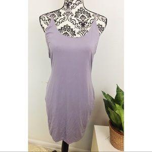 Women's Fashion Nova Light Purple Tank Mini Dress